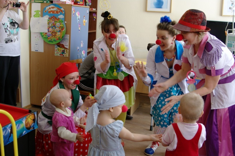 Больничный клоун приходит не пожалеть, а подарить радость