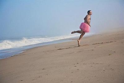 Муж в розовой балетной пачке